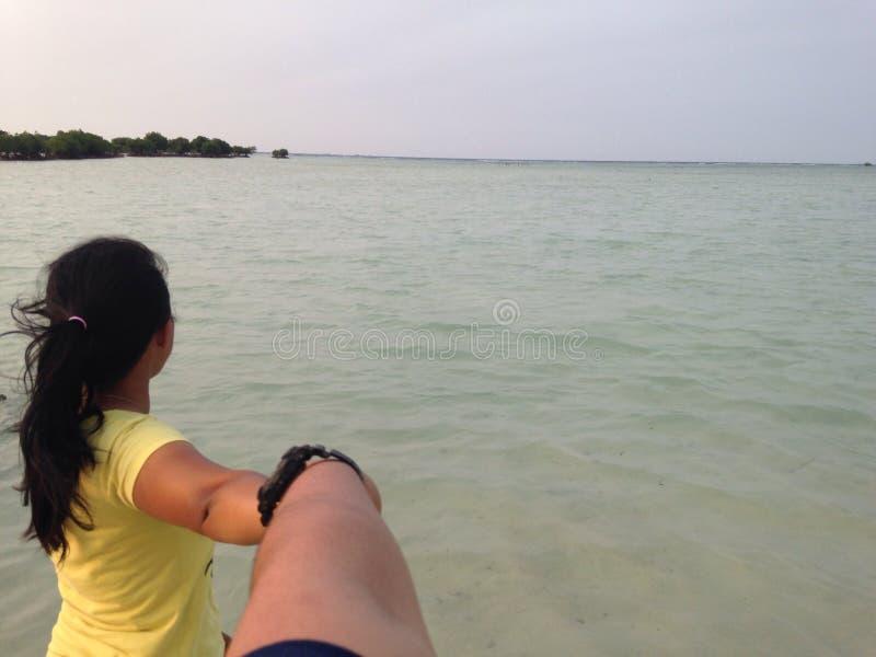 Pari island stock image