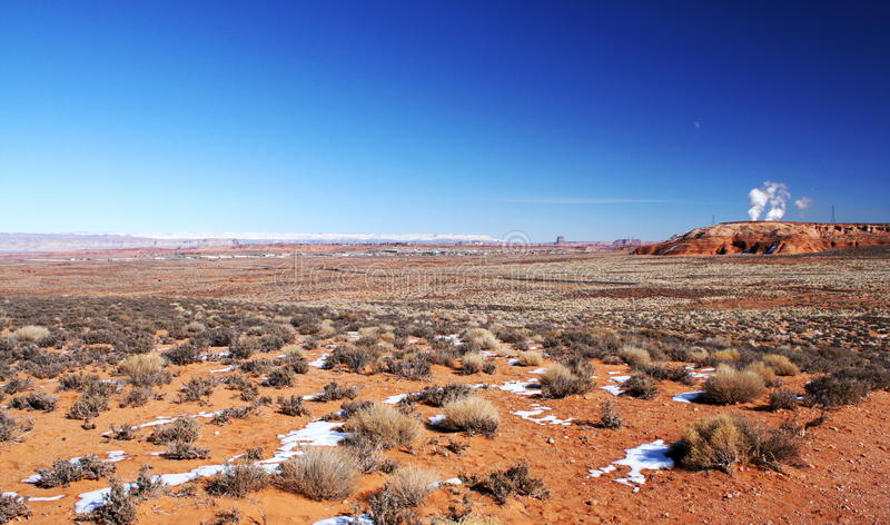 Paria falez Vermilion pustkowie, Utah, usa obraz royalty free