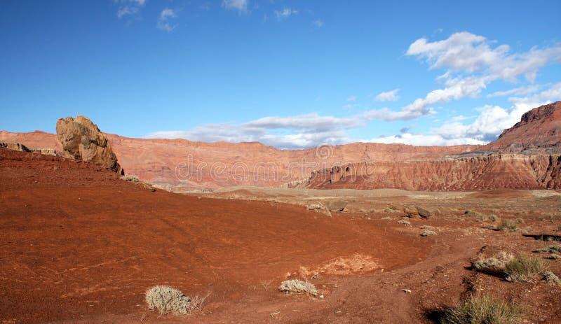 Paria Schlucht-Vermilion Klippen Wildnis, Utah, USA Stockfotografie