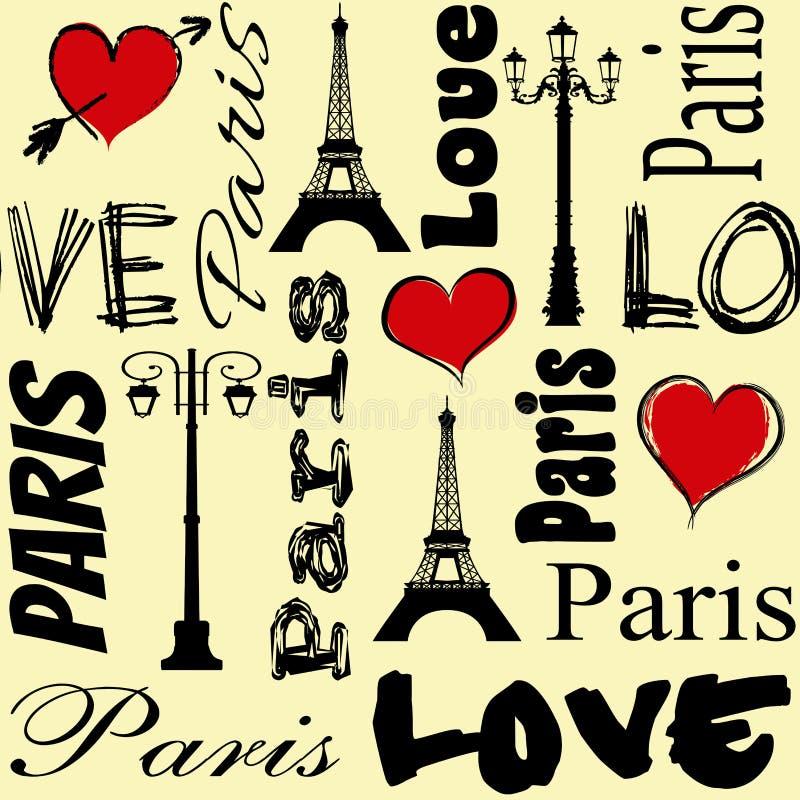 parigi illustrazione vettoriale