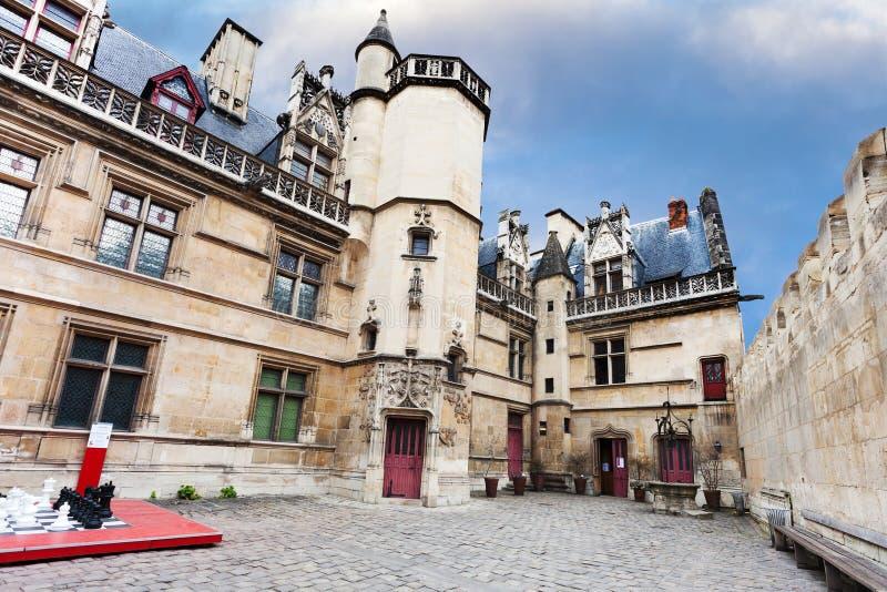 Giurì di onore in Musee de Cluny a Parigi fotografie stock libere da diritti