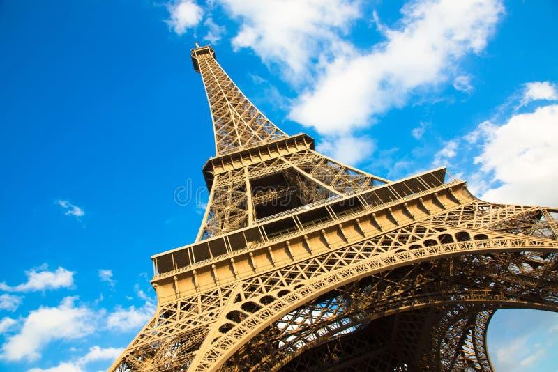 PARIGI, FRANCIA, torre Eiffel fotografia stock libera da diritti