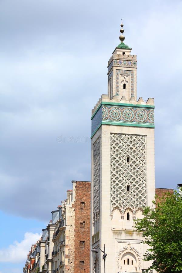 Parigi - grande moschea fotografia stock libera da diritti