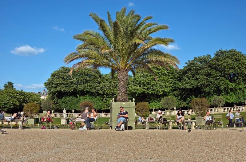 Parigi - il Jardin du Lussemburgo immagini stock libere da diritti