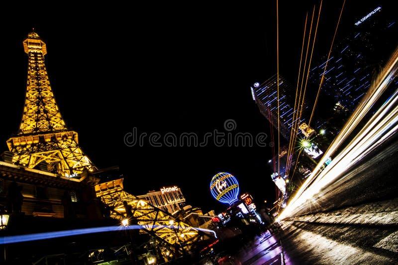 Parigi a Las Vegas immagine stock