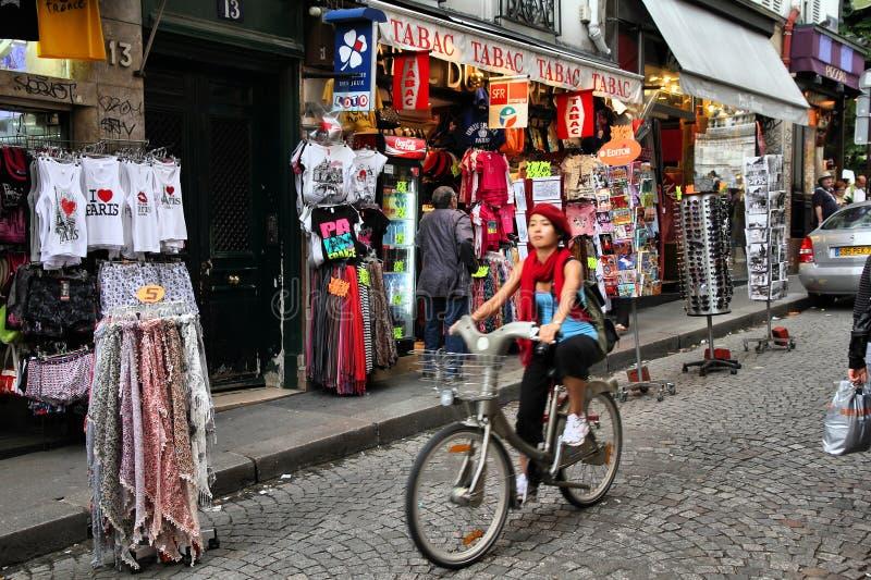 Parigi - Montmartre fotografia stock