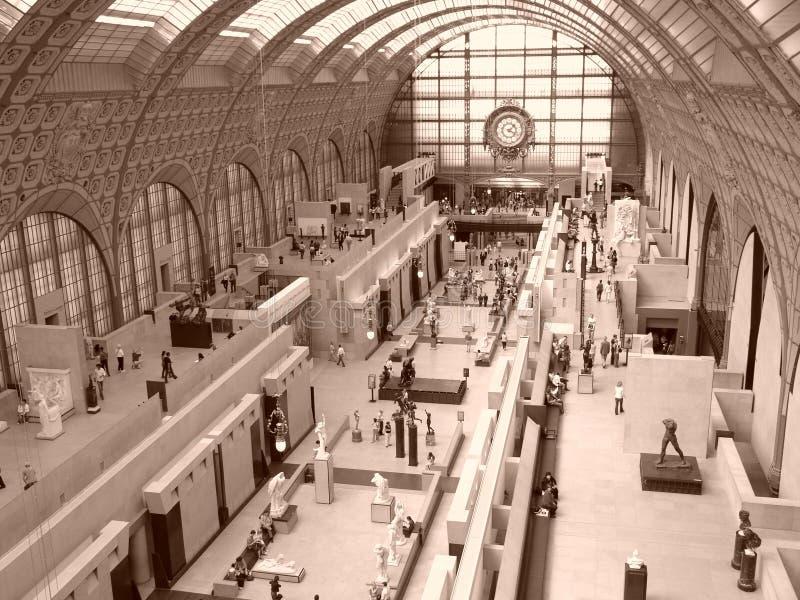 Parigi, Musee d'Orsay immagini stock