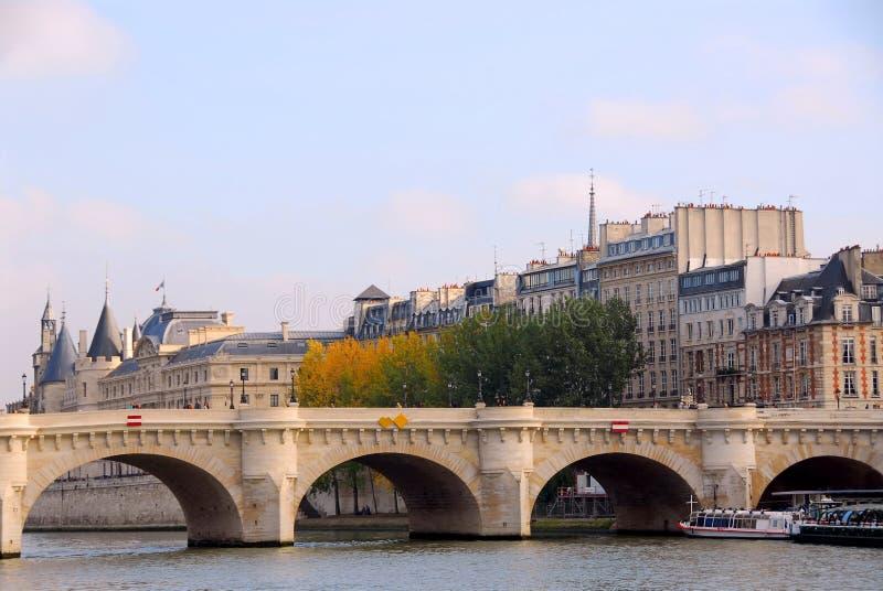 Parigi Seine fotografie stock libere da diritti