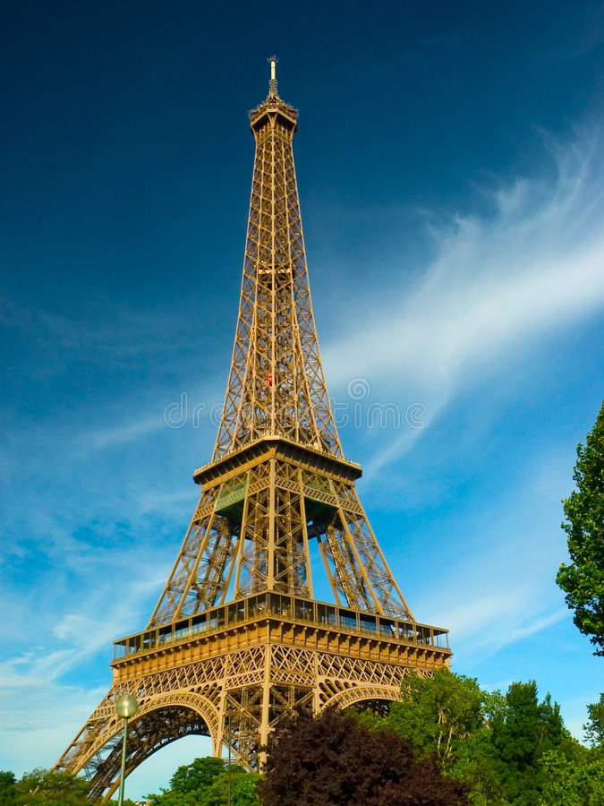 Download Parigi - Torre Eiffel Fotografie Stock - Immagine: 119623