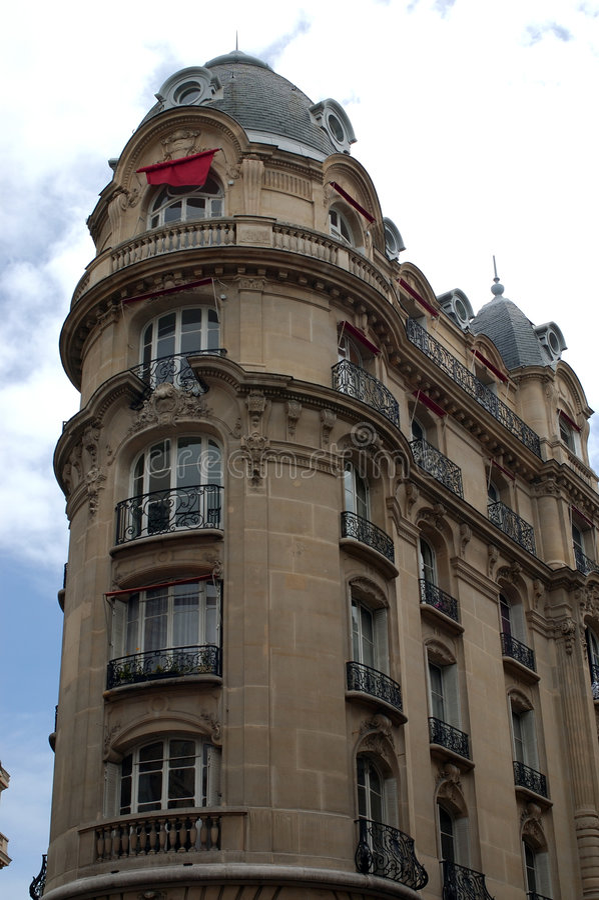 Parijs 1 - Architectuur royalty-vrije stock foto's