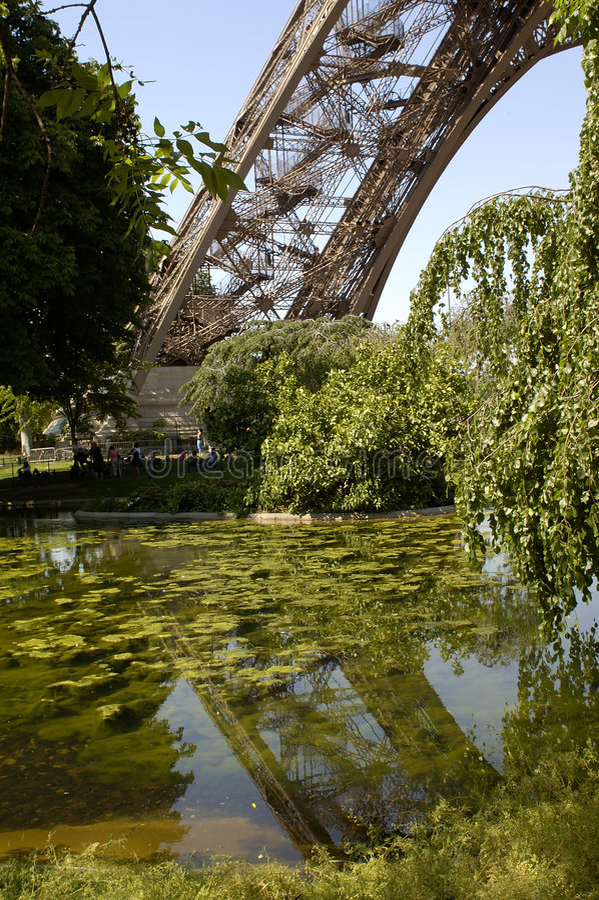Parijs 26, de Toren van Eiffel stock afbeelding