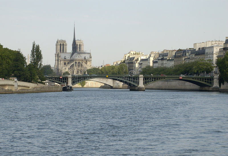 Parijs 27, Notre Dame stock afbeeldingen