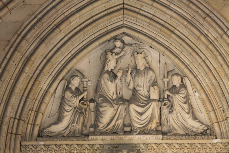 Parijs - de Heilige Chapelle royalty-vrije stock fotografie