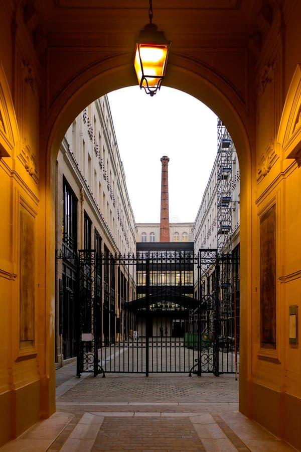 Parijs - de plaats van ontwerp stock afbeeldingen