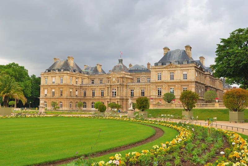 Parijs. De Tuinen van Luxemburg royalty-vrije stock afbeelding