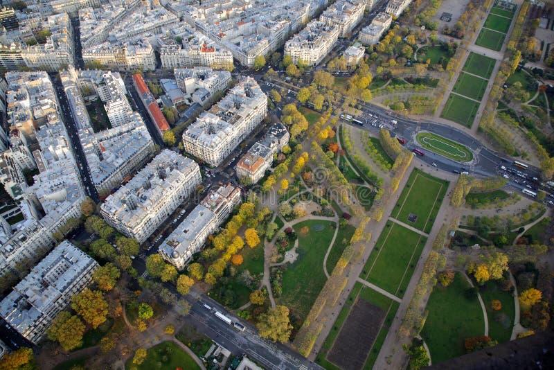 Parijs, Frankrijk. Champ de Mars. royalty-vrije stock foto's