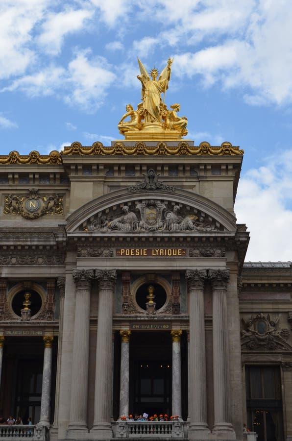 PARIJS, FRANKRIJK - MAART 29, 2014: HISTORISCHE MONUMENTEN VAN PARIJS stock afbeelding