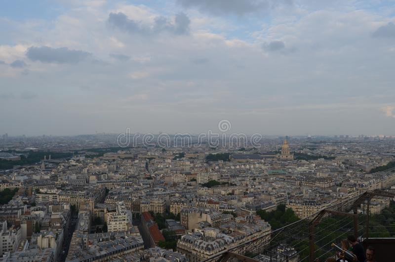 PARIJS, FRANKRIJK - MAART 29, 2014: MENING VAN TORRE EIFFEL royalty-vrije stock foto