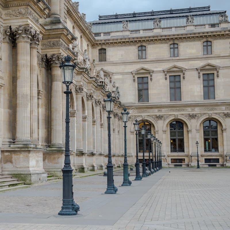 Parijs, het Louvre royalty-vrije stock foto