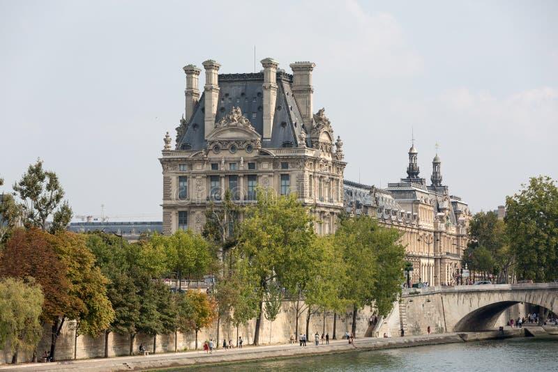 Parijs - het Louvremuseum royalty-vrije stock fotografie
