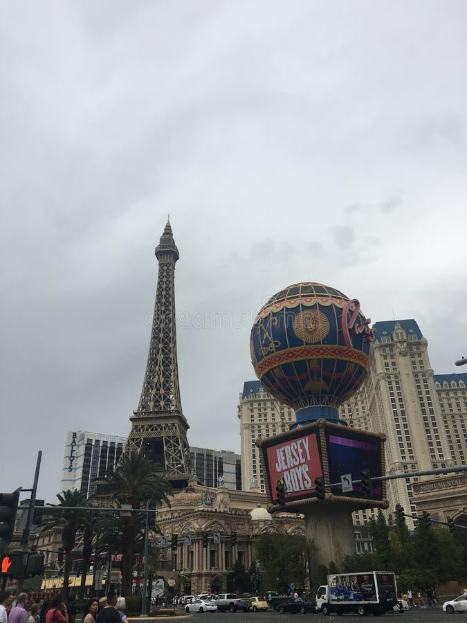 Parijs in Las Vegas royalty-vrije stock foto's