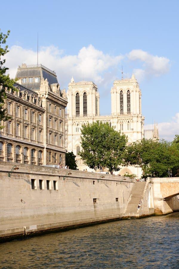 Parijs - Notre Dame stock foto