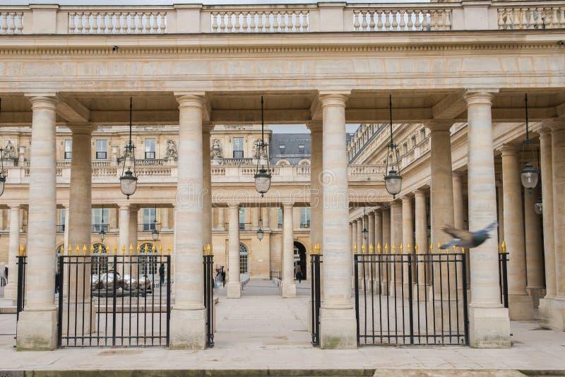 Parijs, plaats van Palais-Royal royalty-vrije stock afbeeldingen