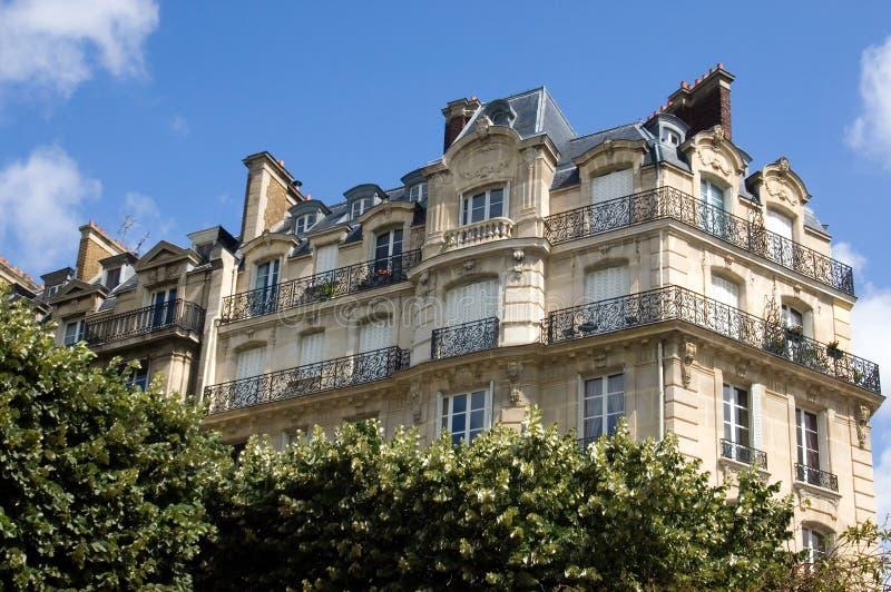 Parijse Flat stock afbeeldingen