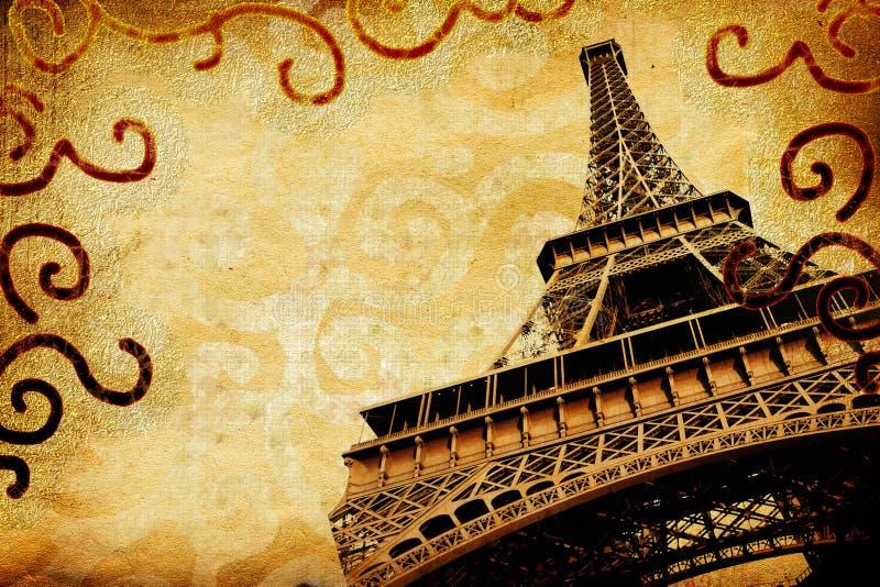 Parijse geheugen stock illustratie