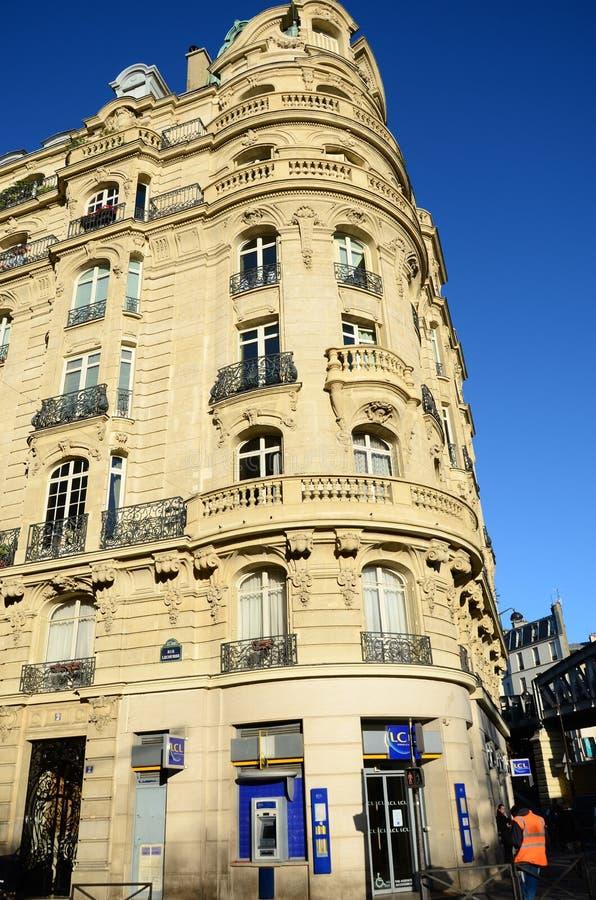 Parijse Hoek royalty-vrije stock fotografie