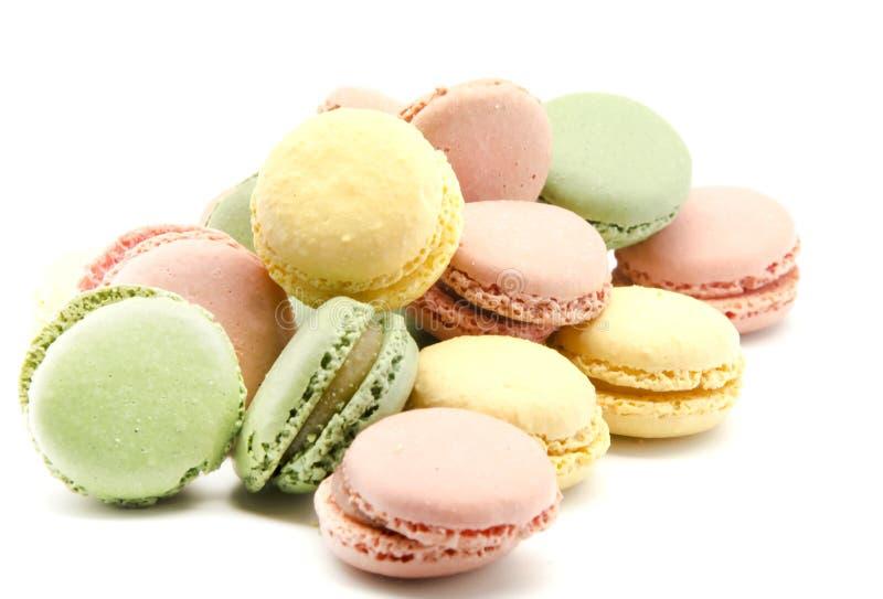 Parijse macarons royalty-vrije stock foto