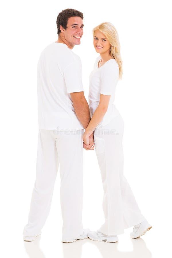 Parinnehavhänder fotografering för bildbyråer