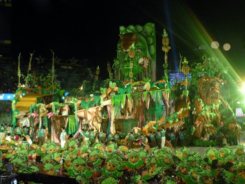 parintins фольклора празднества стоковая фотография