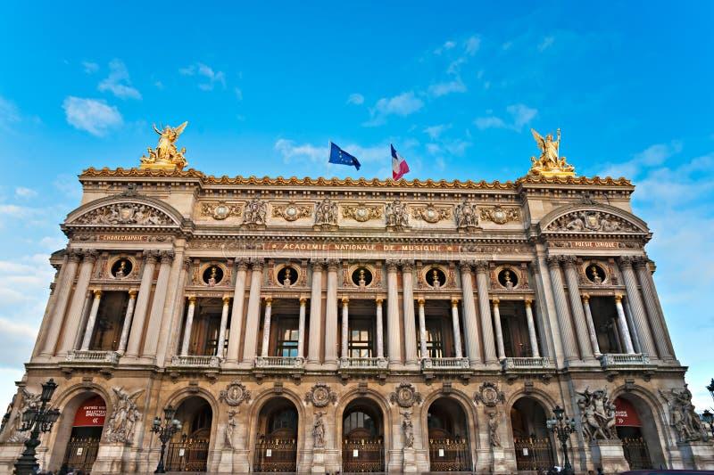 Paris: Ópera Garnier fotografia de stock