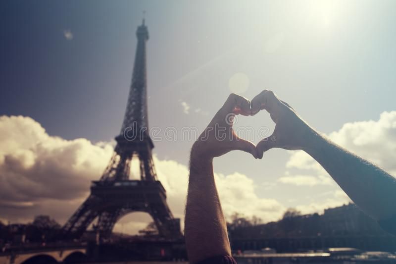 Я люблю Париж стоковая фотография rf