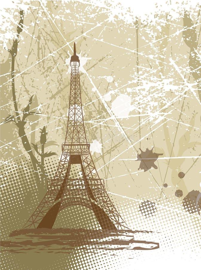 Paris lizenzfreie abbildung