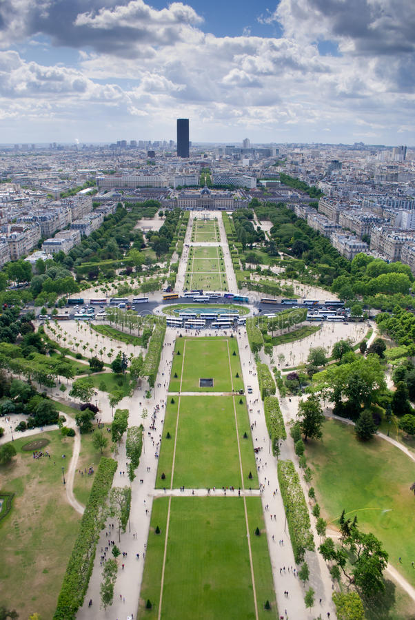 Download Paris stock image. Image of france, capital, field, landscape - 19970813