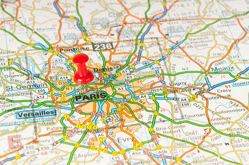 Download Paris stock image. Image of planner, network, world, city - 20751757