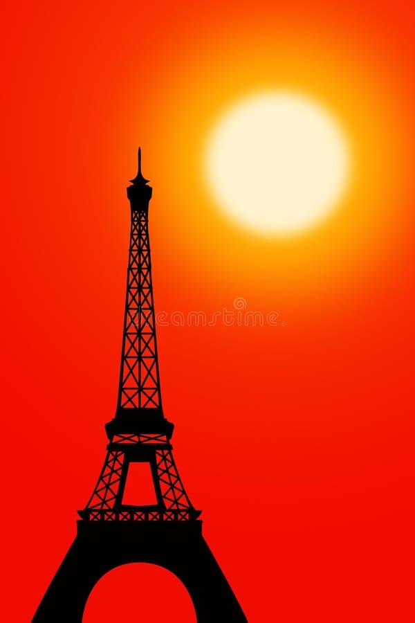 Download Paris stock illustration. Illustration of tower, silhouette - 22202598