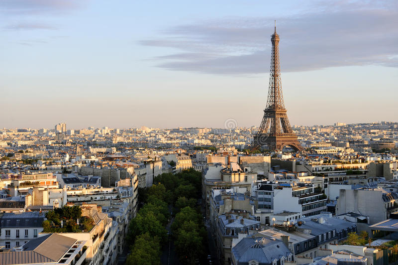Paris stockfotografie
