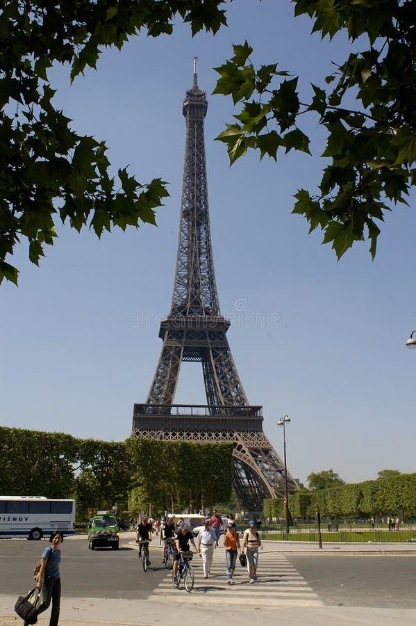 Paris 23, torre Eiffel fotografia de stock royalty free
