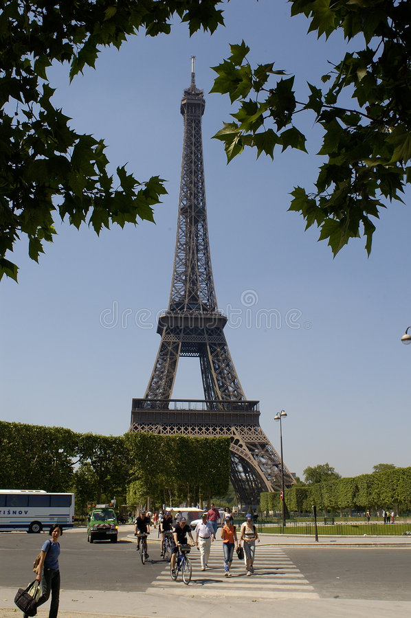 Paris 23, Tour Eiffel photographie stock libre de droits