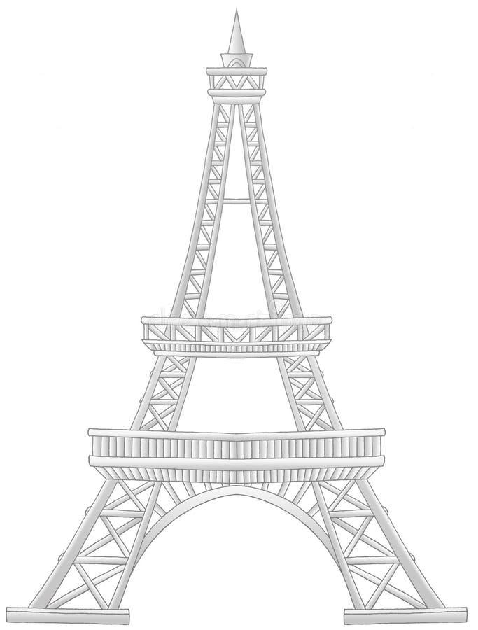 Paris ilustração royalty free