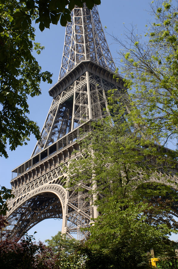 Paris 33, Eiffel Tower royalty free stock photography