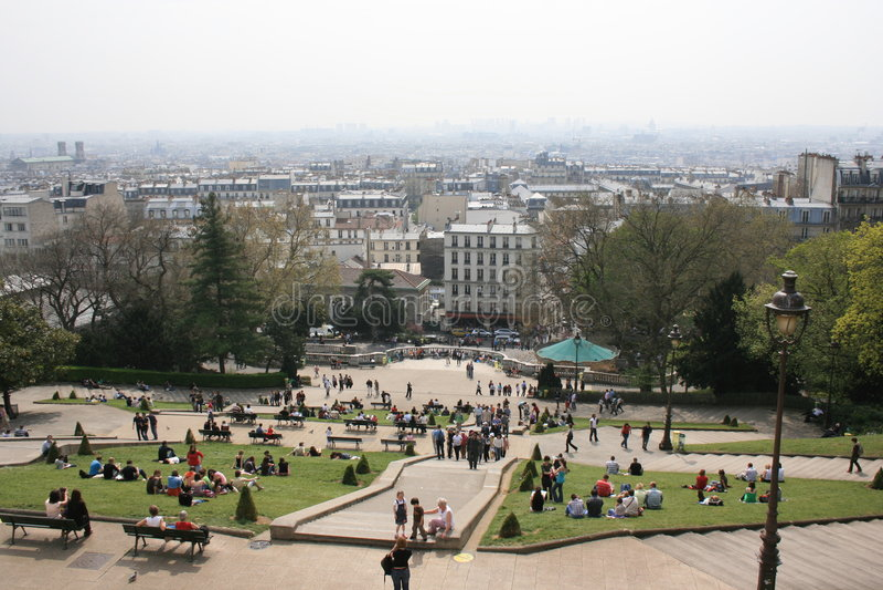 Paris - 4 images libres de droits