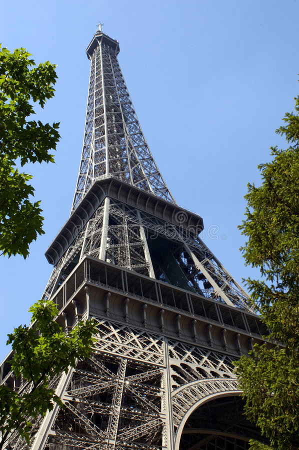 Paris 5 - Eiffel Tower royalty free stock photos