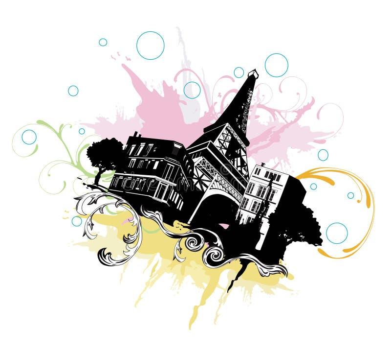 Paris ilustração stock
