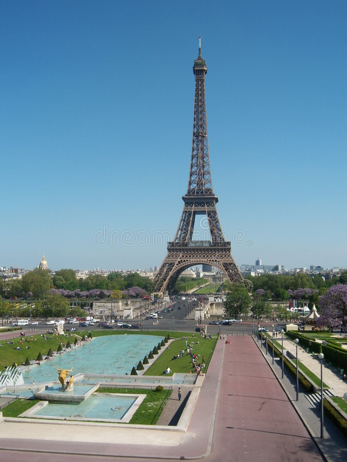 Download Paris. stock image. Image of iron, paris, city, water - 8397801