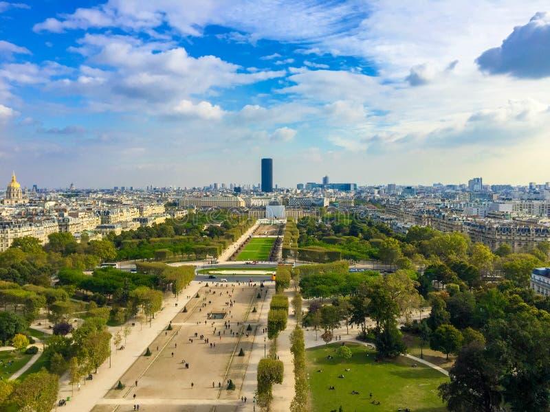 Paris aérien - 1283 photographie stock libre de droits