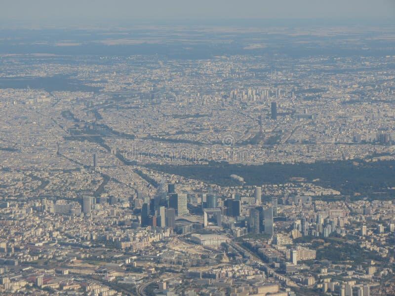 Paris aérien - 1283 images stock